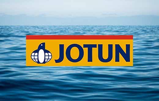 Jotun logga mot bakgrund