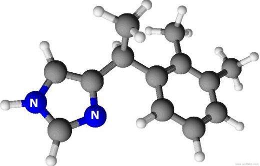 Medetomidine3D with N and NH