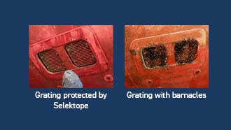 Grating with Selektope for blog