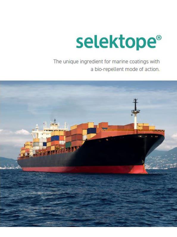 Cover image Selektope brochure 2020
